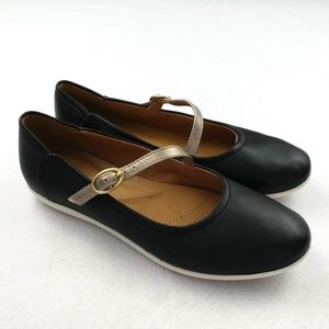 Clarks Collection Helina Mary Jane Style Flats 7W